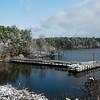 Feb 13<br /> Snowfall on Jordan Lake