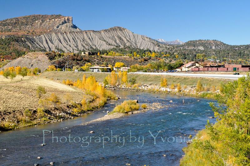 The Animas River flows through Durango.