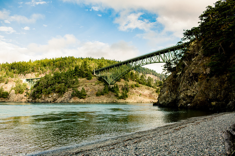 The Beach at Deception Pass