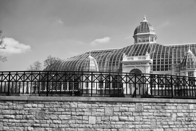 At the Franklin Park Conservatory in Columbus, Ohio