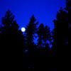 Full Moon in Sedona Arizona