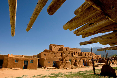 The Taos Pueblo...continuously occupied for 900-1400 years including to the present day.  Many of these rooms are occupied by permanent residents now.
