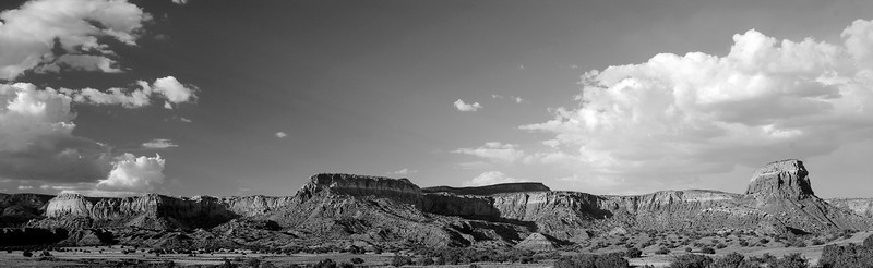 This pano seemed to be begging for a high contrast, black and white treatment.