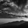 Windy Point Sunset II (B&W)