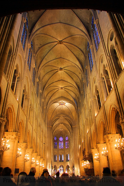 Notre Dame Cathedral, Paris France.