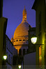 The Basilique Sacré-Coeur, Montmartre Paris France.