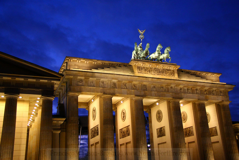 The great gate ! Berlin, Germany.