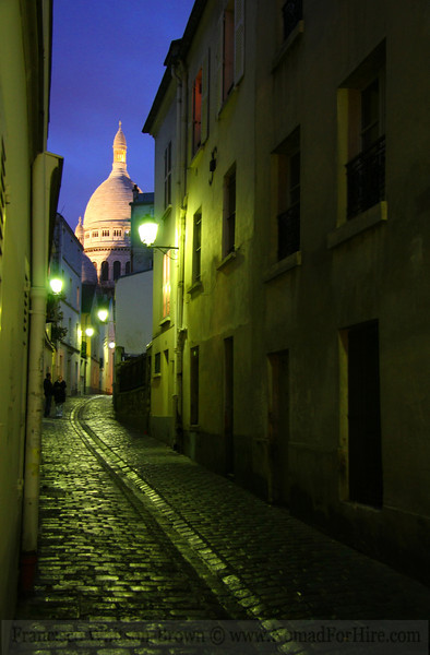Parisian Alleyway, Montmartre, France.