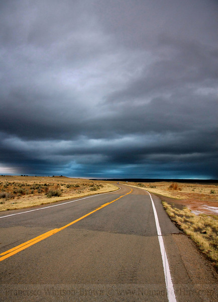 Road to Nowhere, New Mexico.
