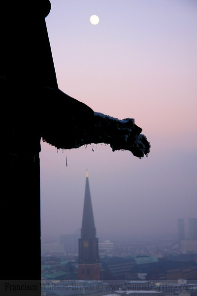 One of the cities many protectors.<br /> For hundreds of years this gargoyle has overlooked his German city.