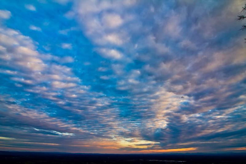 Sunrise from Thacher Park