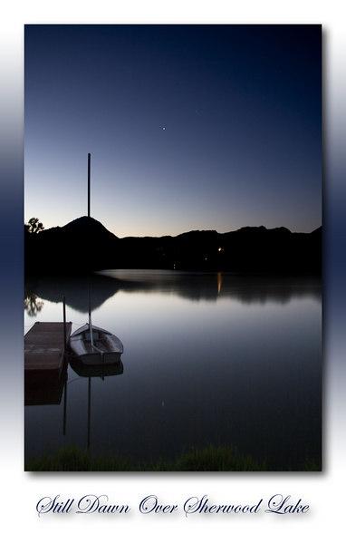 Still Dawn Over Sherwood Lake