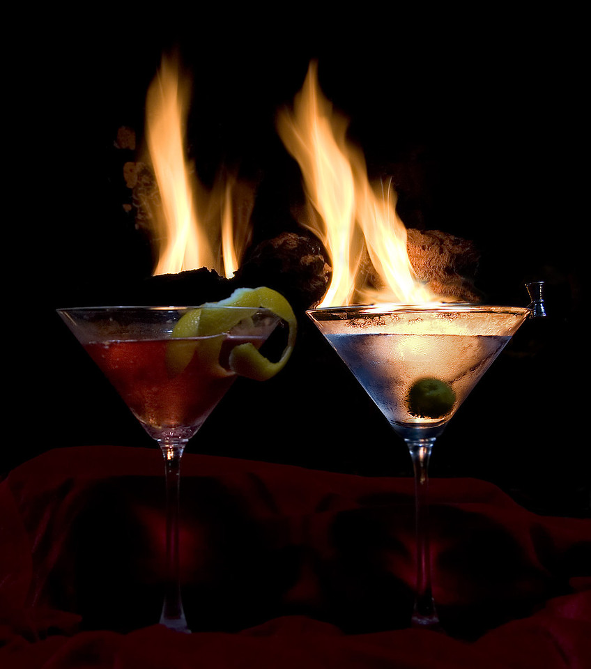 No matter how hot your fires are - always serve your drinks chilled!