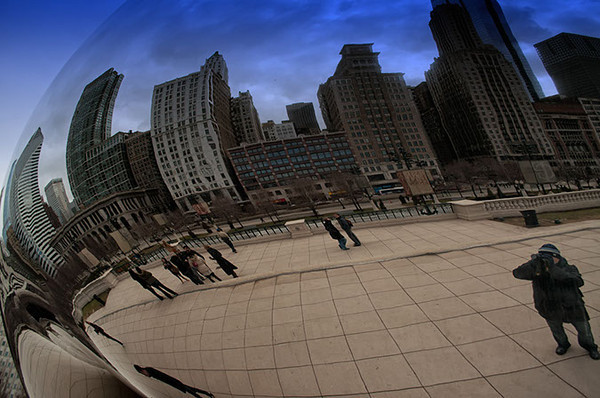 Chicago Bean and me reflections