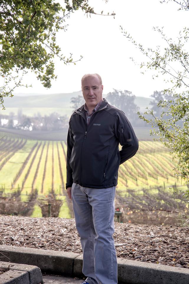 Me at Artessa vineyards - Sonoma