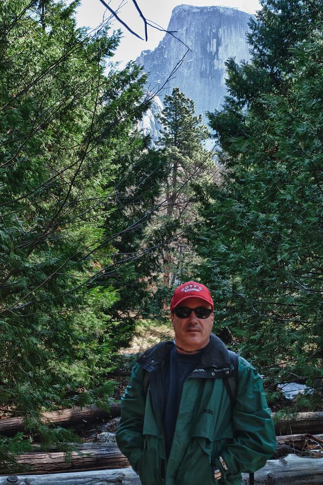Yosemite Falls & me - Winter