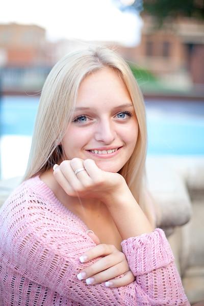 Courtney Hutch High Senior 2015