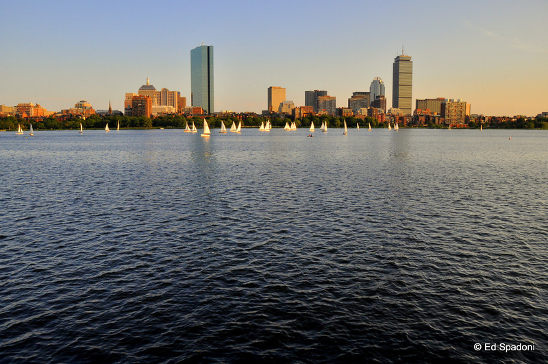 Boston on the Charles River