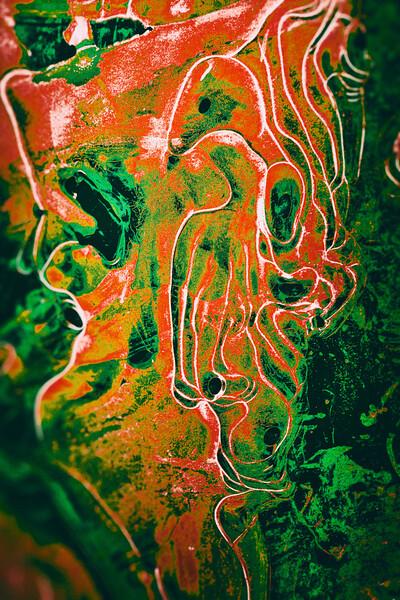 Colored Ice XXI