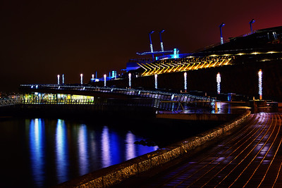 Vancouver Convention Centre at Night