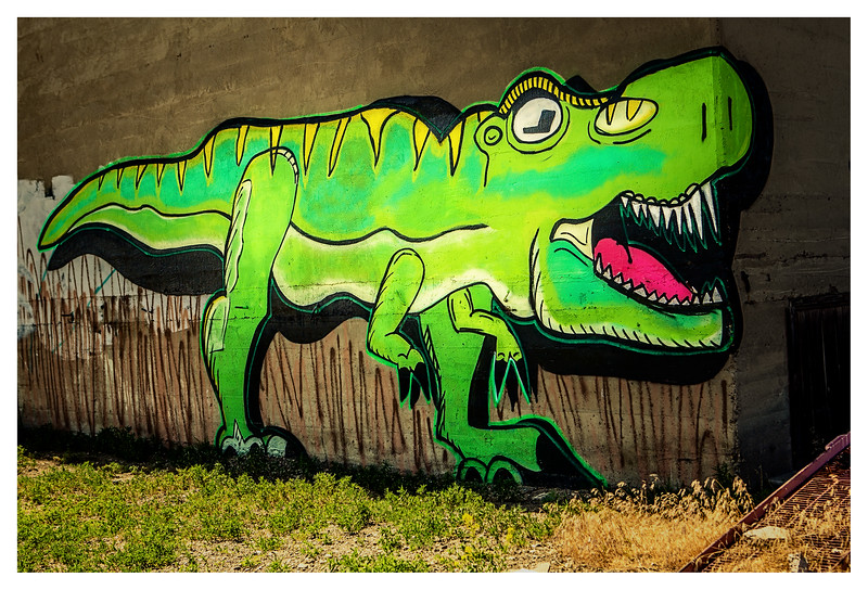 Happy-Go-Lucky T-Rex
