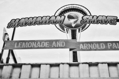 Hawaiian Shave and Space Needle