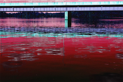 Bridge over the Mississippi River in Brainerd, MN