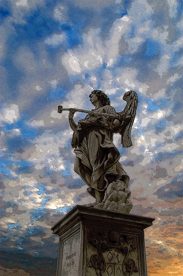 Angel on the Ponte Sant'Angelo, Rome