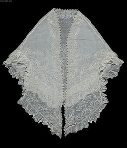 sheer mantle shawl