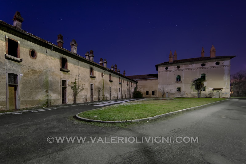 The Colombarone by night. Sforzesca
