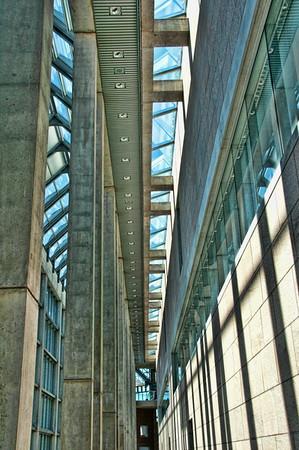 Shadow Light Concrete Glass Steel