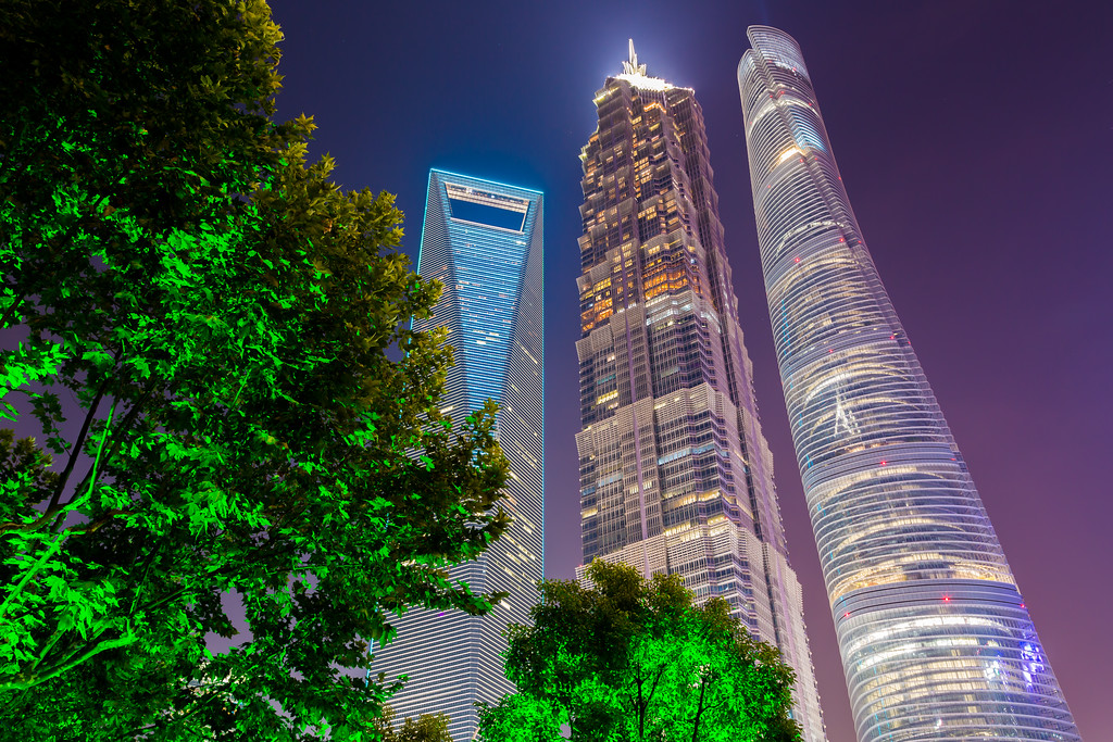 Shanghai 3 Towers