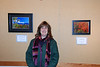 That's me and the two photos I have at the Broadmoor Audubon sanctuary's student photo exhibit.