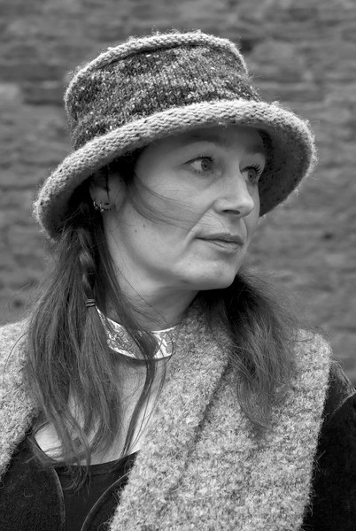 Sharon in het kasteel van  Asten-Heusden