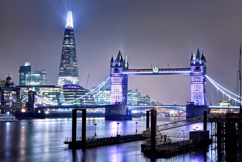 The Shard & the Tower Bridge