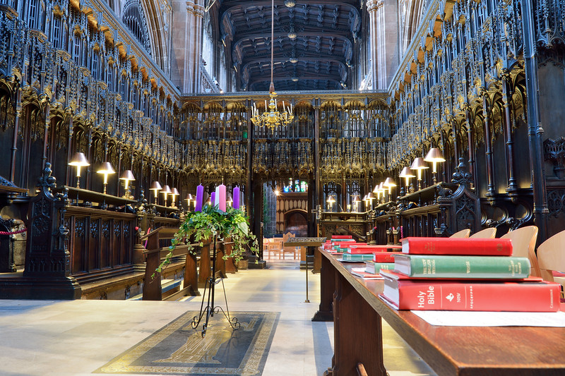 Manchester Cathedral - choir