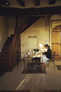 Salle a mange a la ville de La Chaise