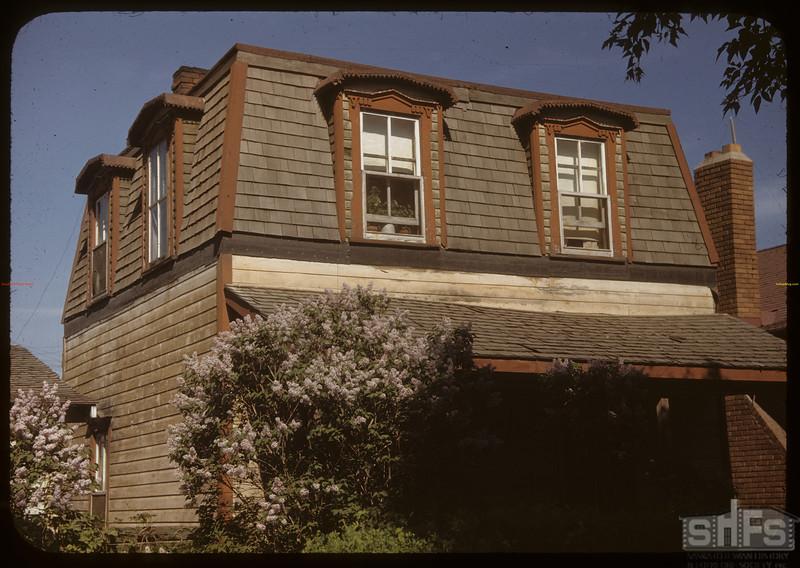 Saskatoon Temperance Colony House (1883) used as hospital in 1885. 712 Dufferin Street. Saskatoon 06/02/1948