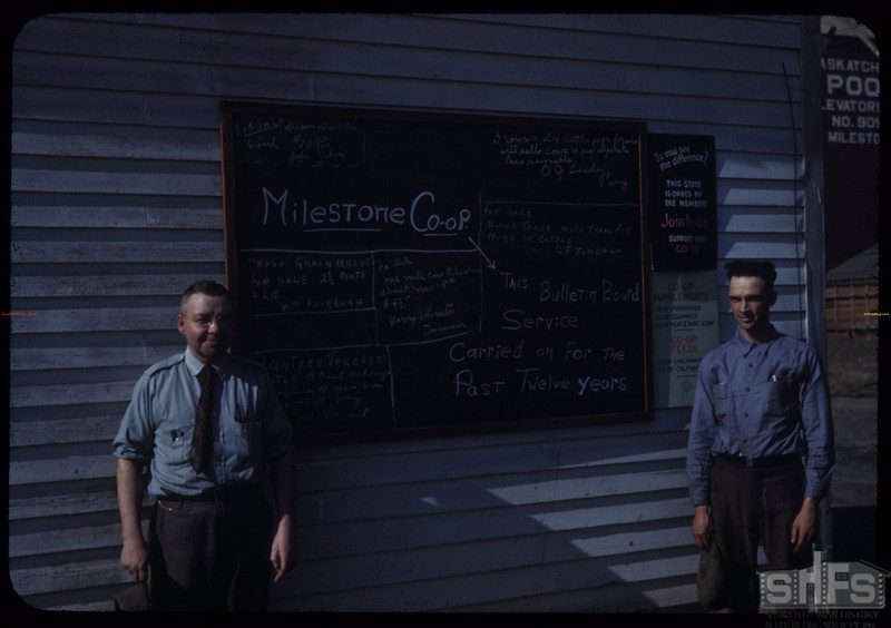 The test of 12 years of the Milestone co-op bulletin board. Renwick and Smith. Milestone. 10/01/1942