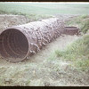 Culvert from steel tractor tires. Robsart 06/19/1952