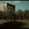 Victoria Park toward MacCallum Hill Building. Regina. 07/29/1946.