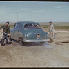 """Foot & Mouth"" disinfection about 10 miles E. of Moose Jaw. Moose Jaw. 06/05/1952"