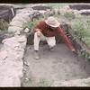 Tony Ranere archaeologist. Fort Carleton. 09/12/1965