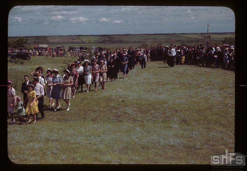 St. Laurent pilgrimage. Duck Lake. 07/16/1944