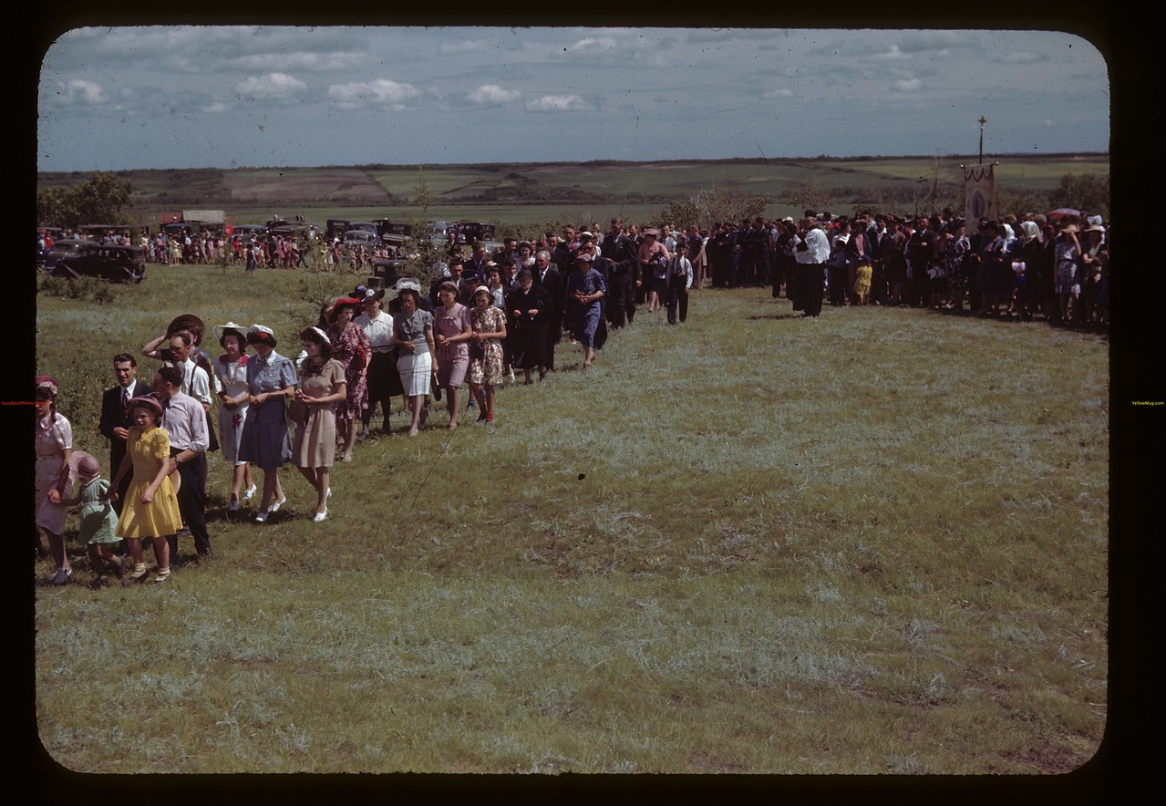 St. Laurent pilgrimage. Duck Lake. 07/16/1944