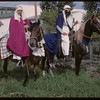 "Shaunavon Jubilee - ""Arabian Shieks"". [Neil East is rider on far side - horse's name is Rabnad] Shaunavon 07/18/1963"