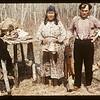 Drying fish. Loon Lake.  04/30/1944