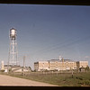 Water tower & convent from the west. Gravelbourg.   06/04/1947