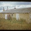 Tony Derringer - old style Russian house. {Built in 1926}. Mankota. 09/15/1950