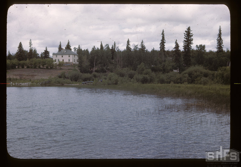 Hudson Bay manager's house.  06/21/1946